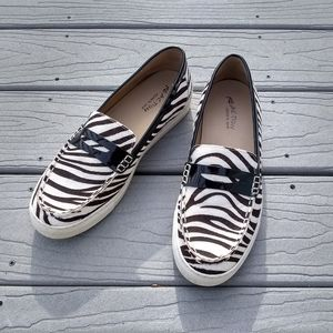 Kenneth Cole Reaction Zebra Loafers